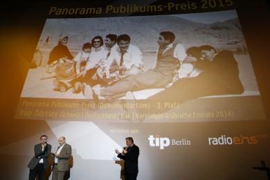 «IRAQI ODYSSEY»: 3. Platz Panorama Publikumspreis